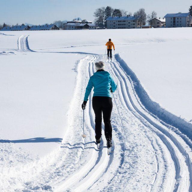 Habillement hivernal de ski de fond